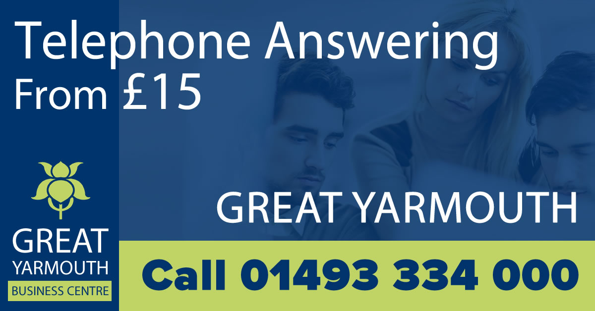 Telephone Answering Service Great Yarmouth
